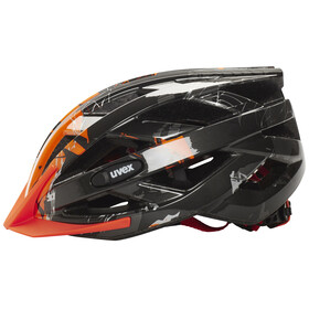 UVEX i-vo c Helmet dark silver-orange